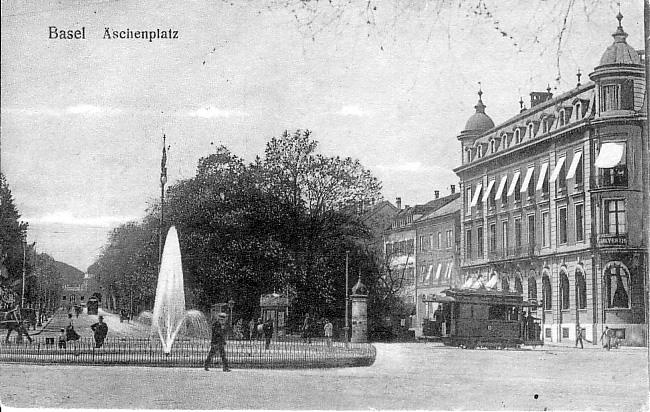 Aeschenplatz um 1910