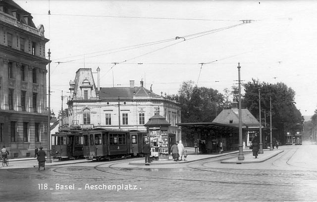 Aeschenplatz um 1915