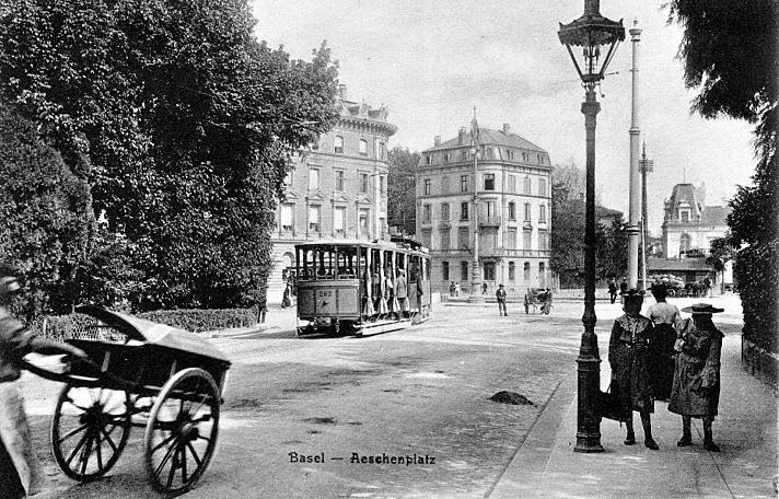Aeschenplatz um 1905