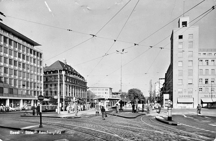 Aeschenplatz um 1955