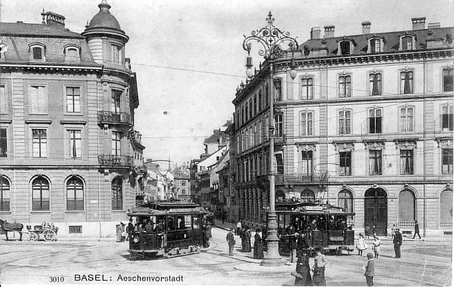 Aeschenvorstadt um 1906