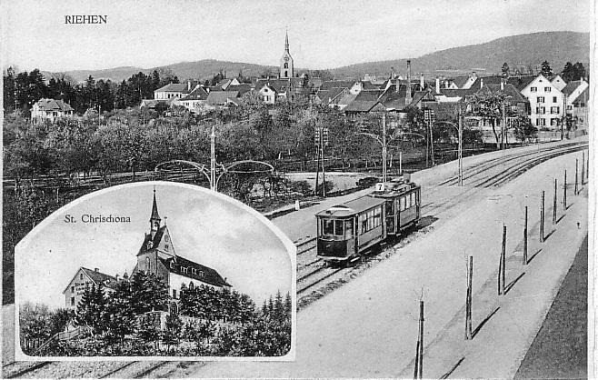 Äussere Baselstrasse um 1912
