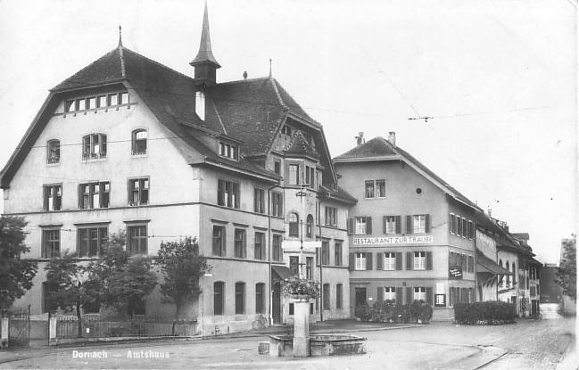 Amtshaus um 1935