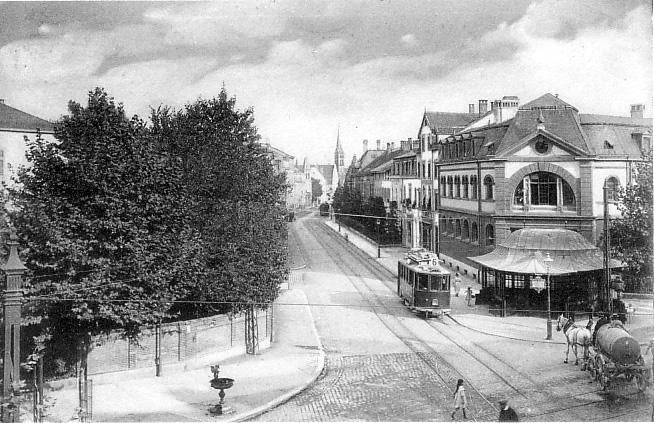 Brausebad um 1920