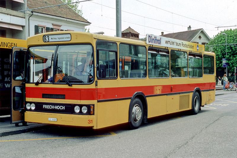 Scania N112 CL Nr. 31