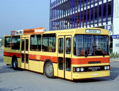 Scania N112 CL Nrn. 31–33