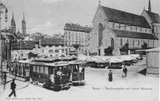 Barfüsserplatz um 1903