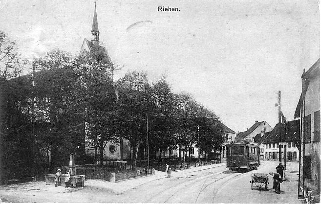 Baselstrasse um 1907