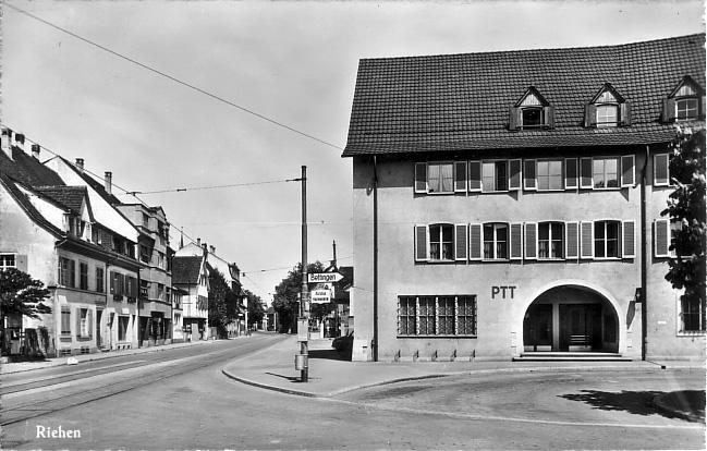 Baselstrasse um 1960