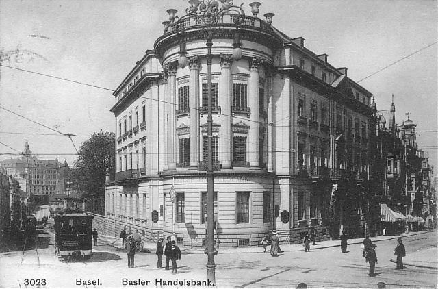 Steinenberg um 1908