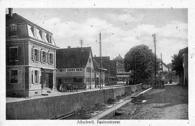 Baslerstrasse um 1905