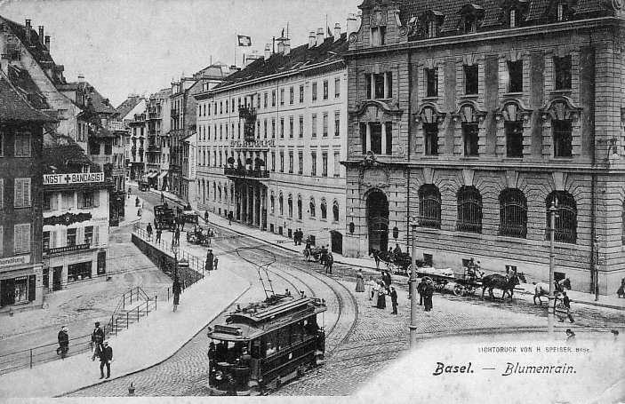 Blumenrain um 1905