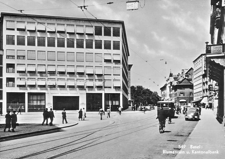 Blumenrain um 1937