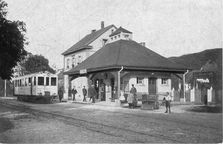 Station um 1910