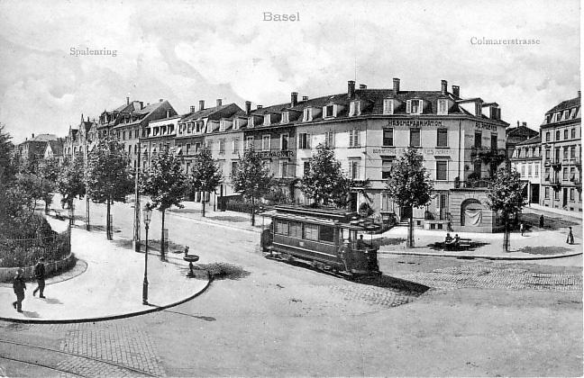 Burgfelderplatz um 1906