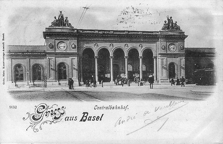 Centralbahnhof um 1898