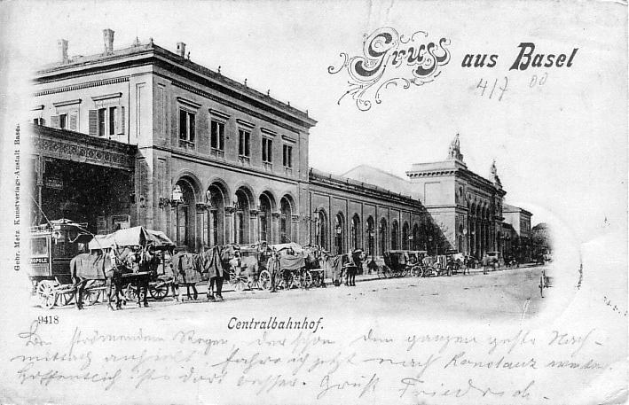 Centralbahnhof um 1899
