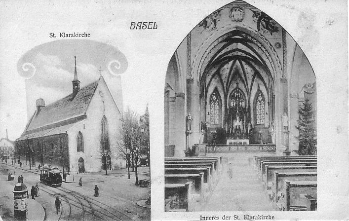 Clarakirche um 1900