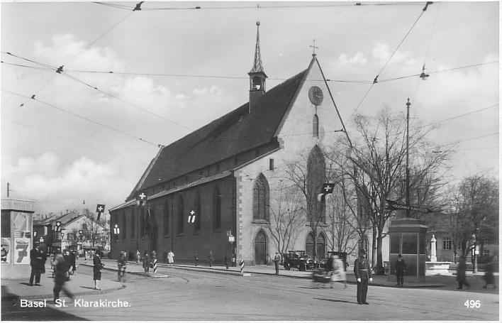 Clarakirche um 1935