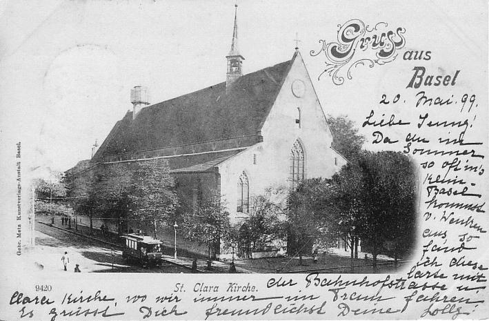 Clarakirche um 1898