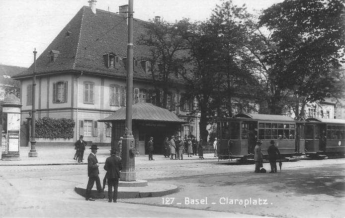 Claraplatz um 1928