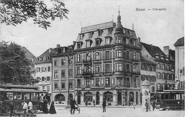 Claraplatz um 1905