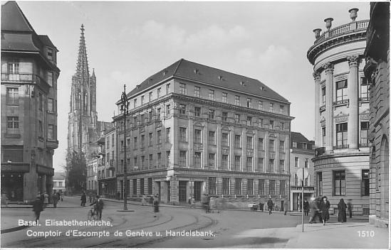 Bankenplatz um 1925