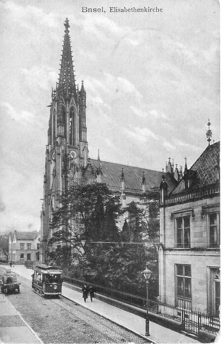 Elisabethenkirche um 1905