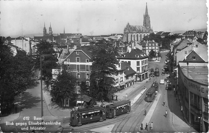 Steinentorstrasse um 1937