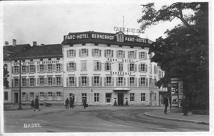 Elisabethenstrasse um 1925