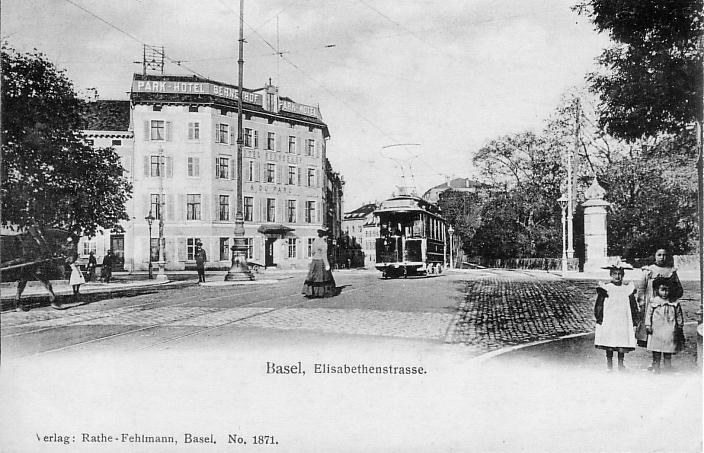 Elisabethenstrasse um 1903