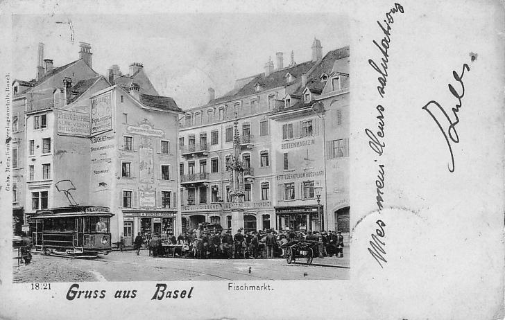 Fischmarkt um 1900