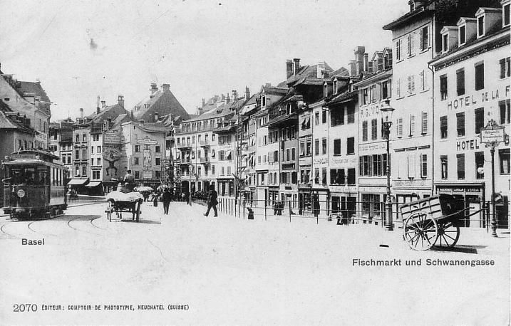 Fischmarkt um 1902
