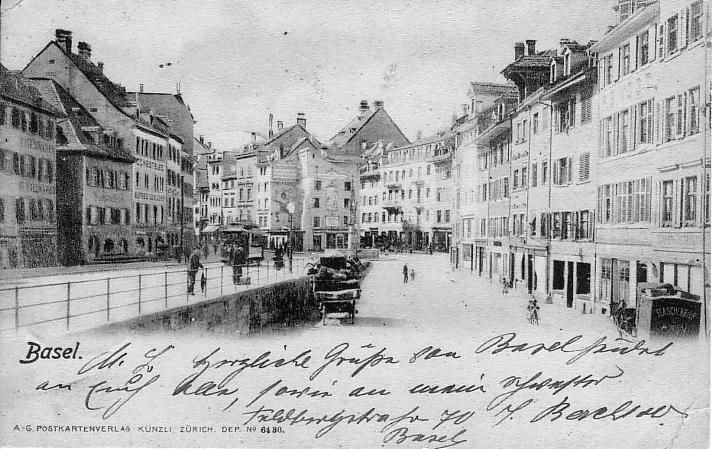 Fischmarkt um 1901
