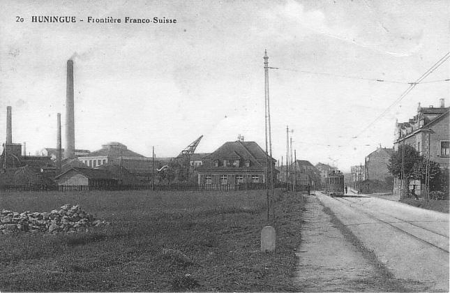 Grenzübergang um 1928
