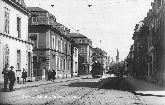 Güterstrasse um 1925