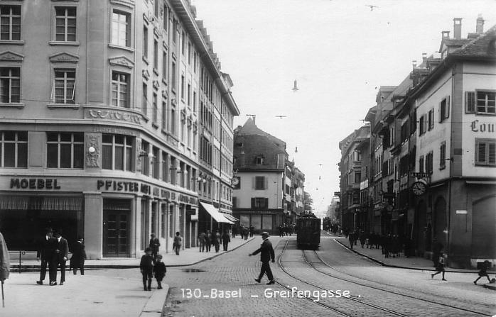 Greifengasse um 1926