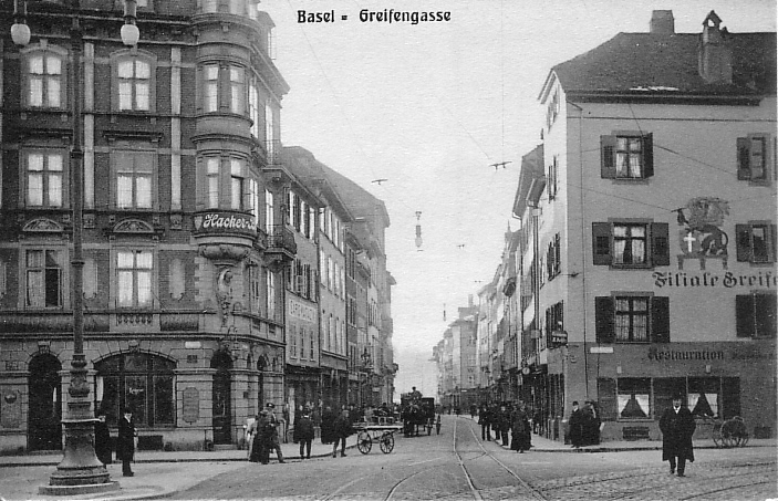 Greifengasse um 1905