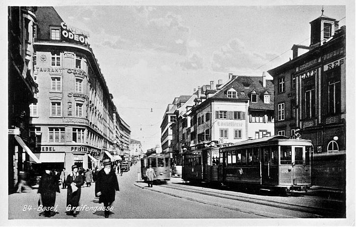 Greifengasse um 1935