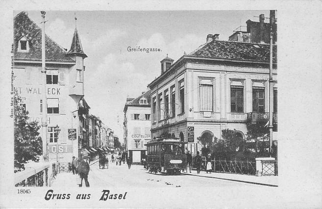 Greifengasse um 1900