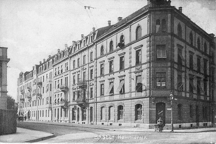 Hammerstrasse um 1905