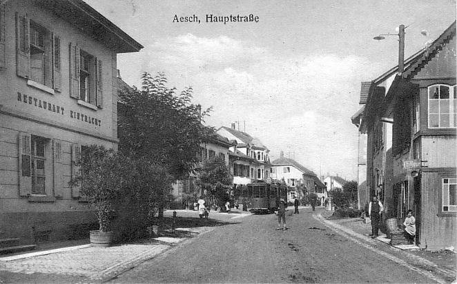 Hauptstrasse um 1915