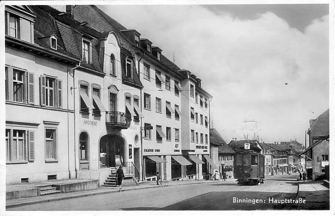Hauptstrasse um 1935