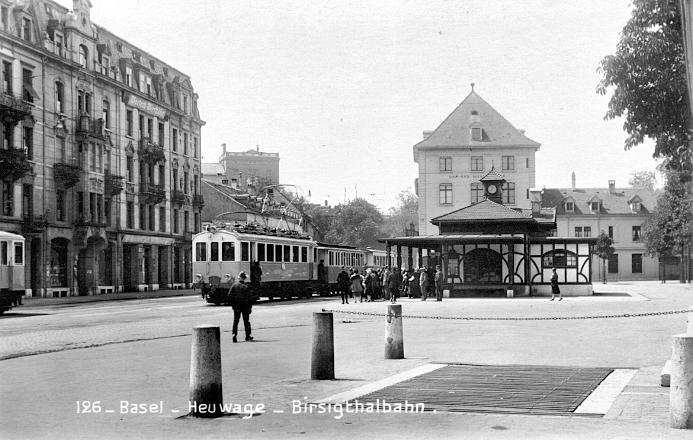BTB-Station um 1925