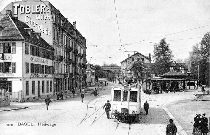 BTB-Station um 1906