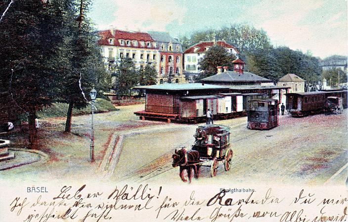 BTB-Station um 1902