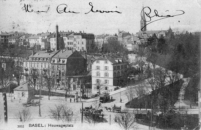 Heuwaage um 1903