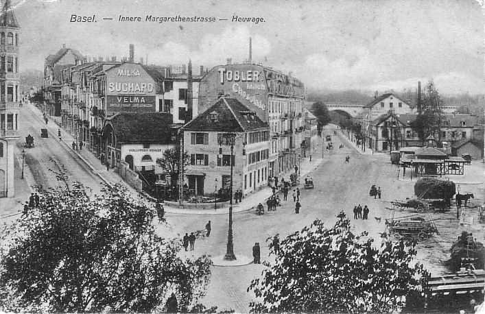 Heuwaage um 1905