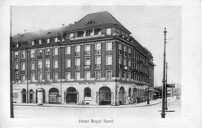Hotel Royal um 1920