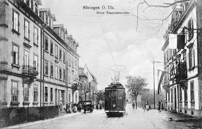 Baslerstrasse um 1910